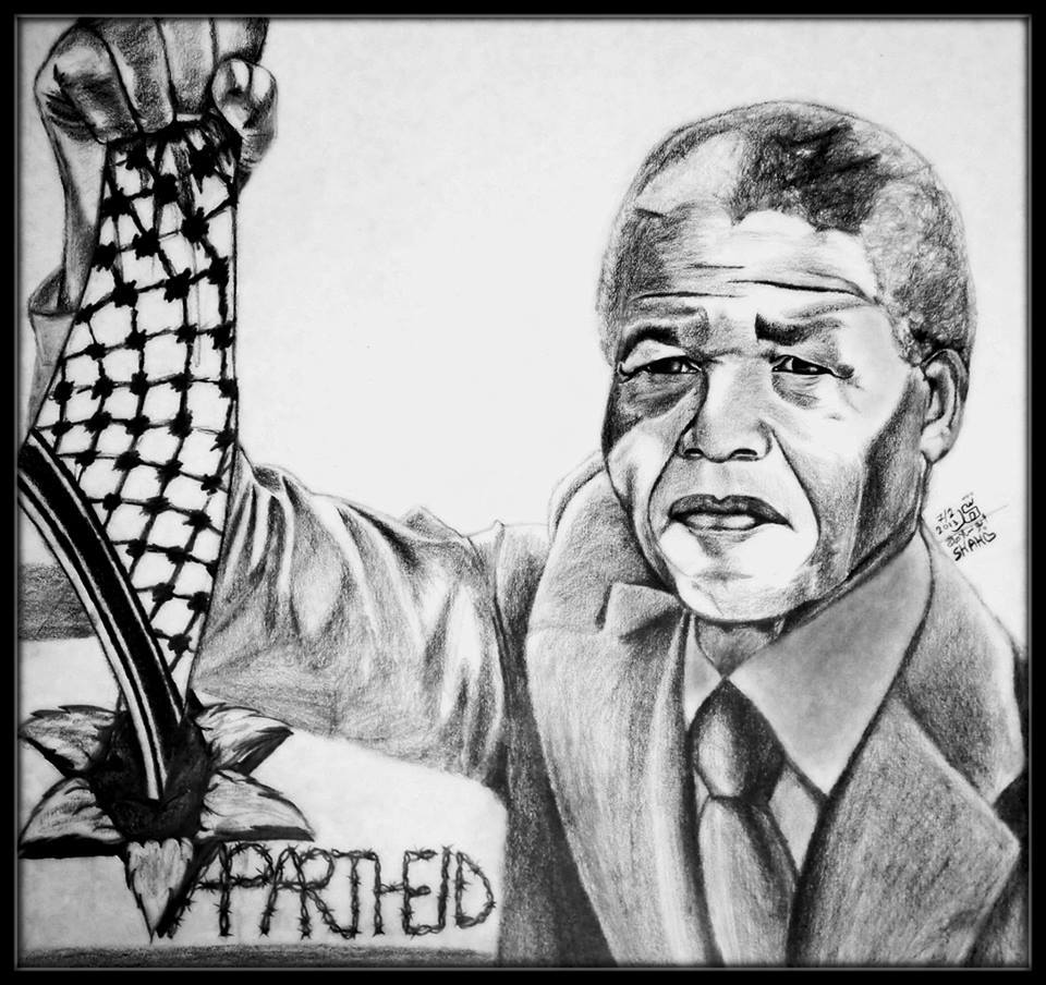 Mandela with kaffaya