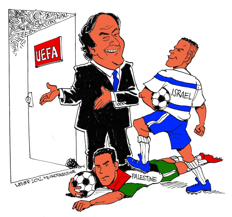 Platini invites Israeli Football into UEFA over the  body of Palestinian Football