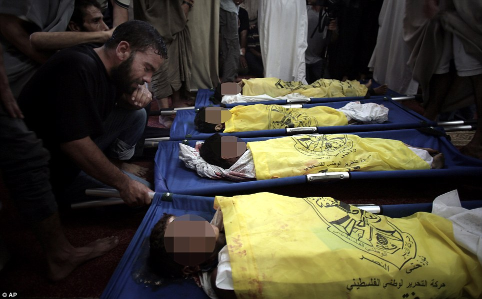 GAZA 4 Boys killed